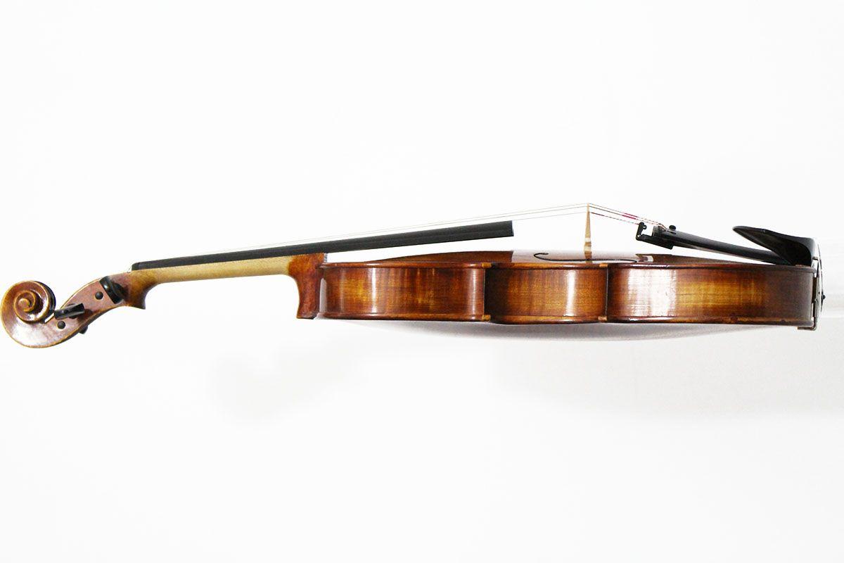 Viola de Arco 40,5 cm modelo Strad verniz goma laca