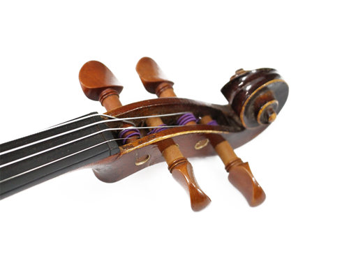 Violino 3/4 feito à mão modelo strad 1713 Czechoslovakia