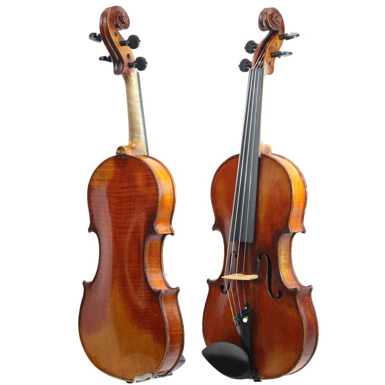 Violino Antigo de Oficina Alemã