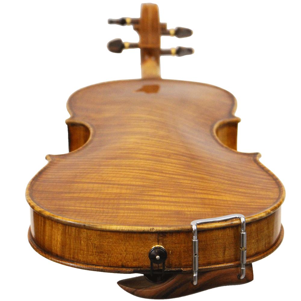 Violino Artesanal Fundo Inteiro Atelier Oliver Goma Laca 4/4
