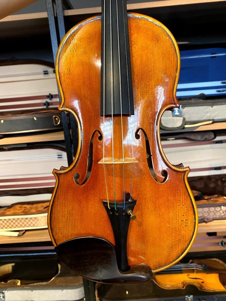 Violino feito à mão modelo Guarneri verniz goma laca