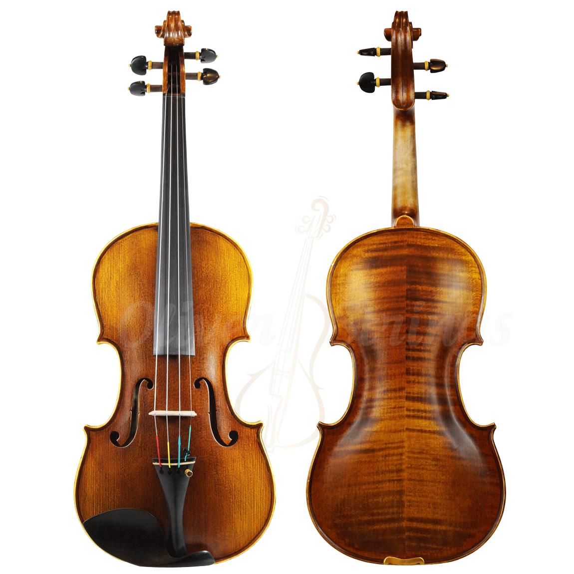 Violino feito à mão modelo stainer misto 4/4 fosco