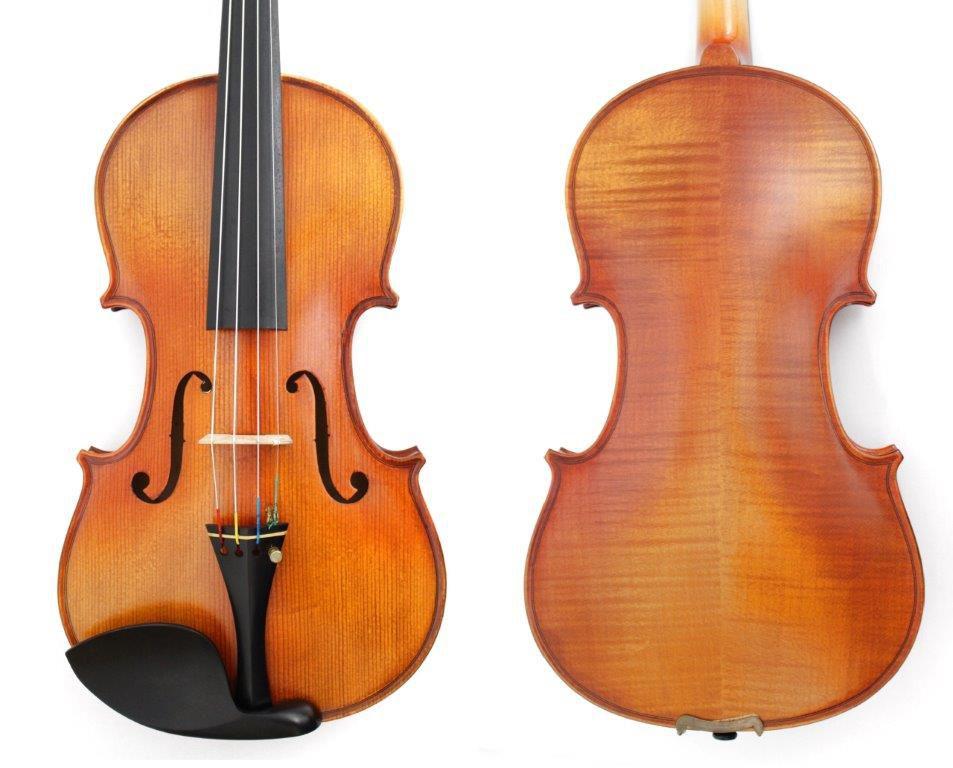 Violino feito à mão modelo strad 4/4 fosco