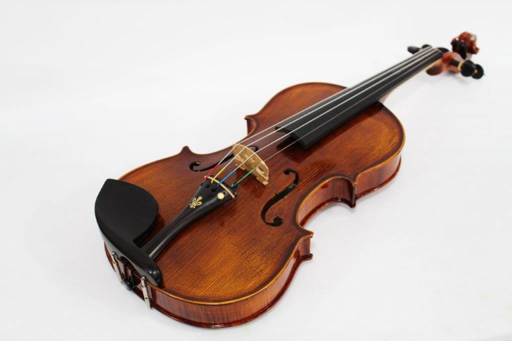 Violino feito à mão modelo strad 4/4 Profissional