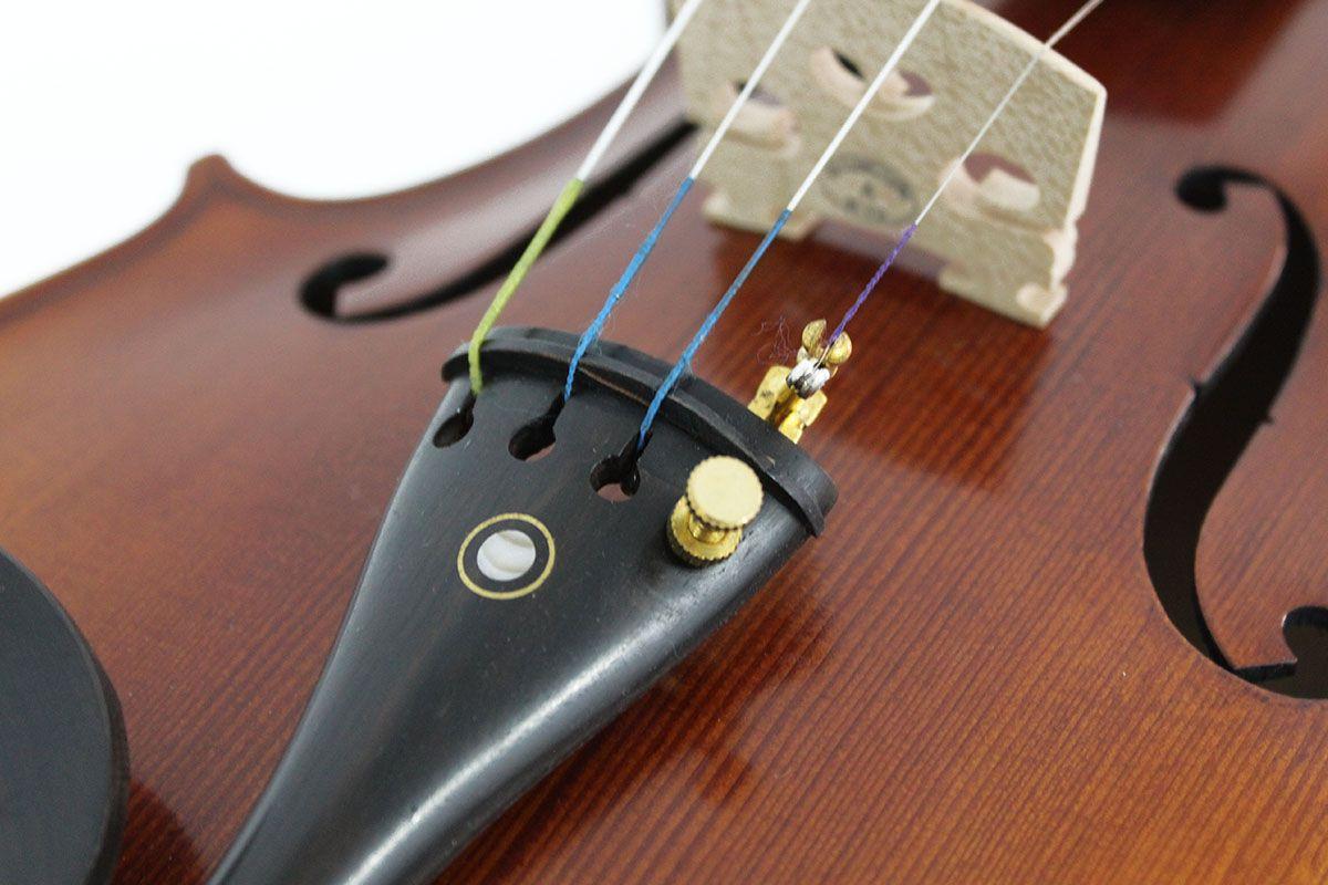 Violino fundo inteiro 4/4 - Escuro