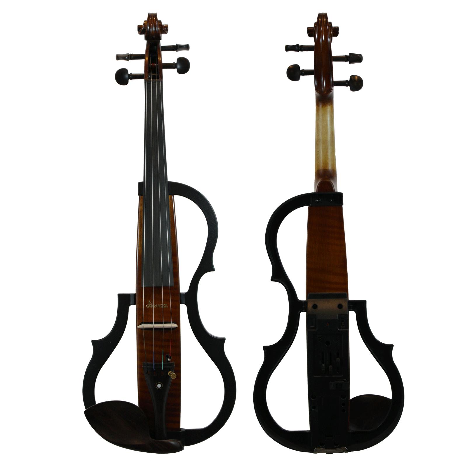 Violino Intermediário Elétrico Orquezz Classic Madeira 4/4