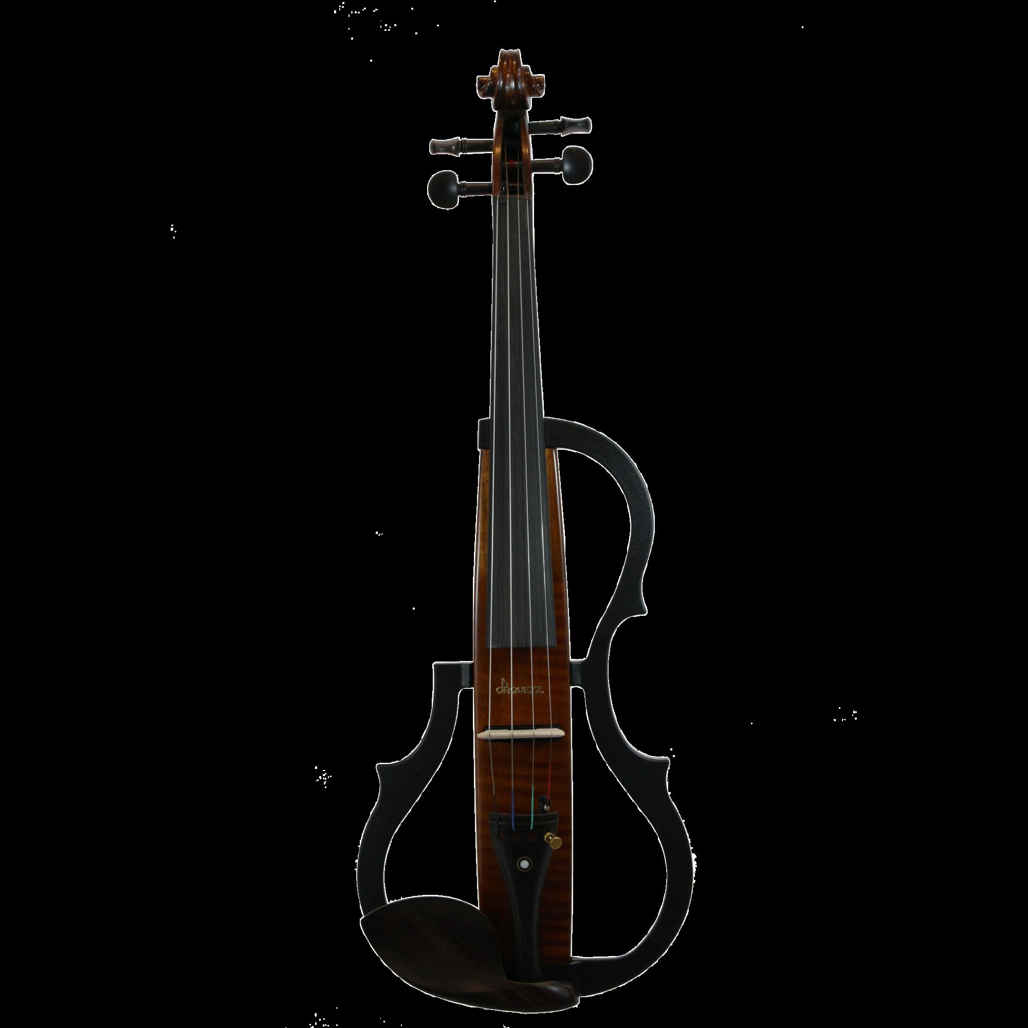 Violino Semi Profissional Elétrico Orquezz Classic Madeira 4/4