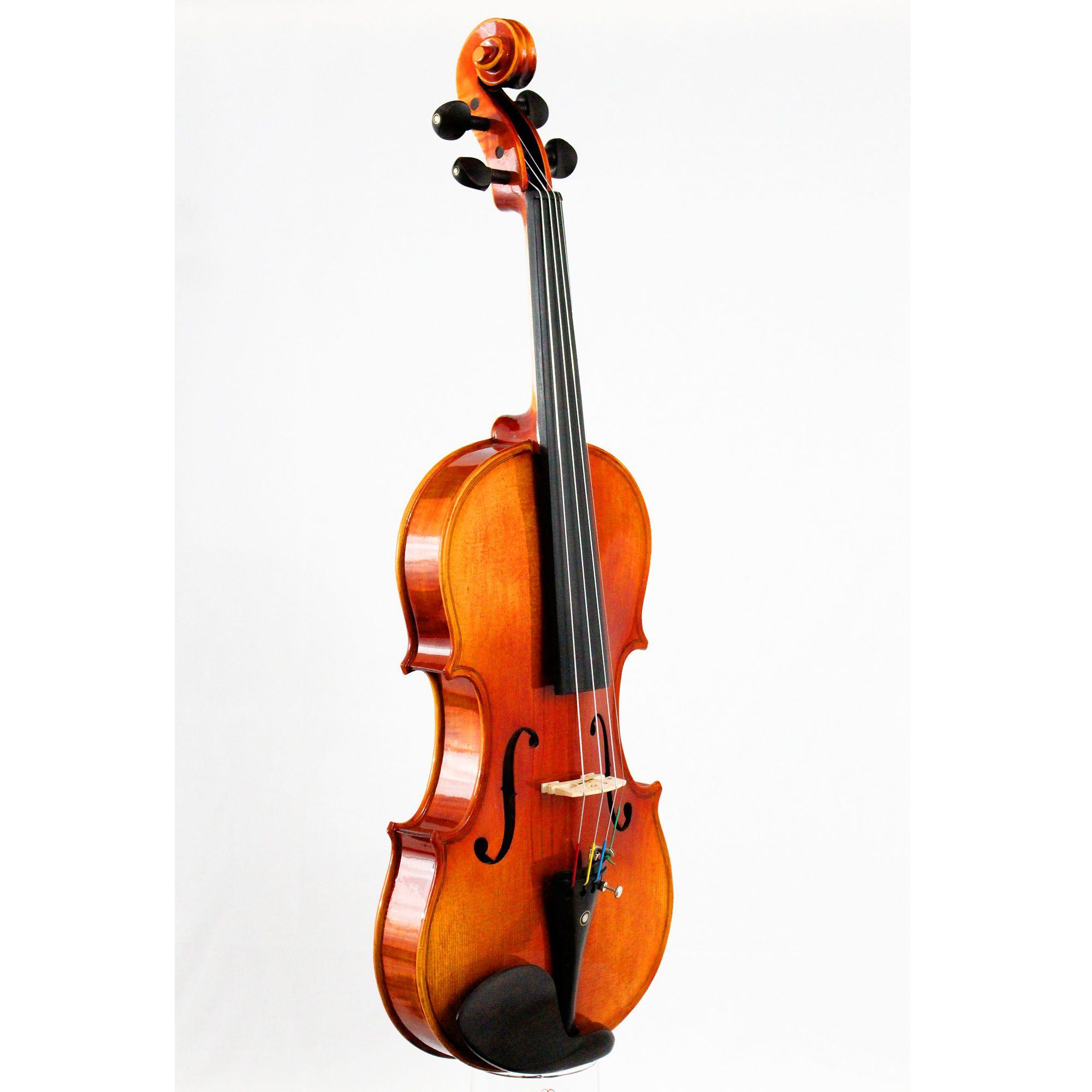 Violino intermediário modelo strad 4/4 Brilho