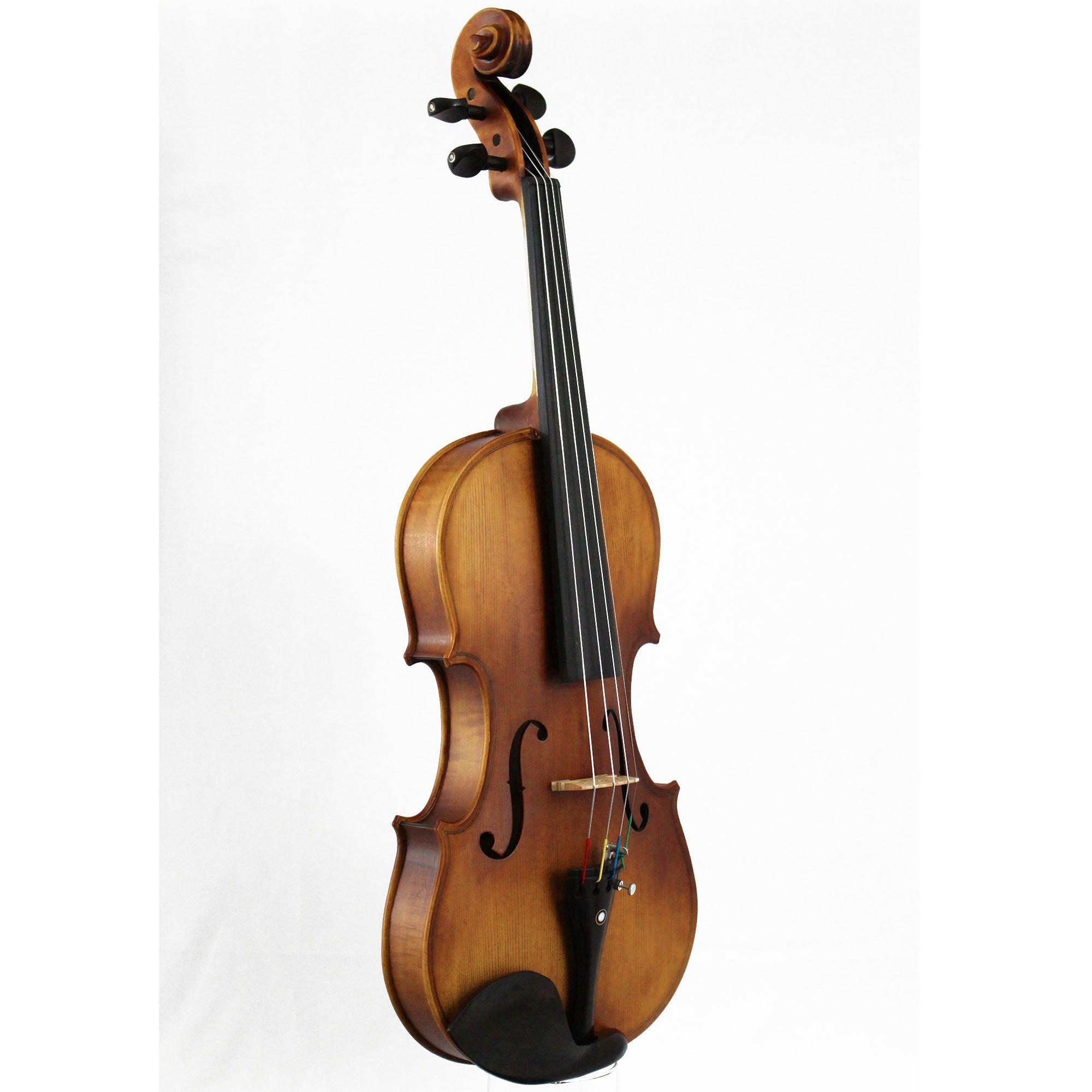 Violino intermediário modelo strad 4/4  Fosco