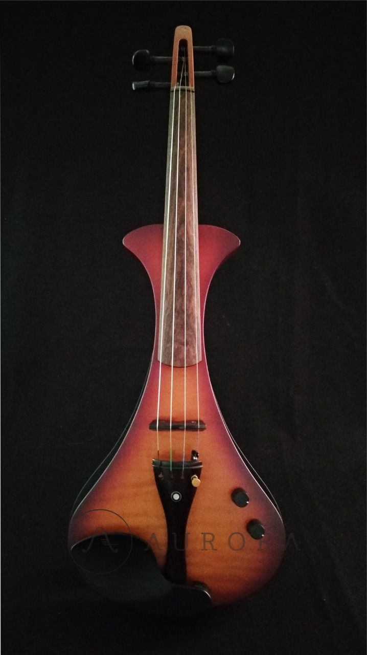 Violino Profissional 4/4 Elétrico Aurora WS sumburst satin