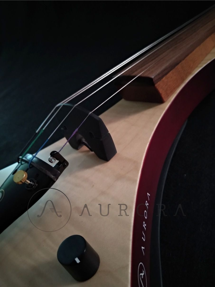 Violino Profissional 4/4 Elétrico Aurora WS natural maple
