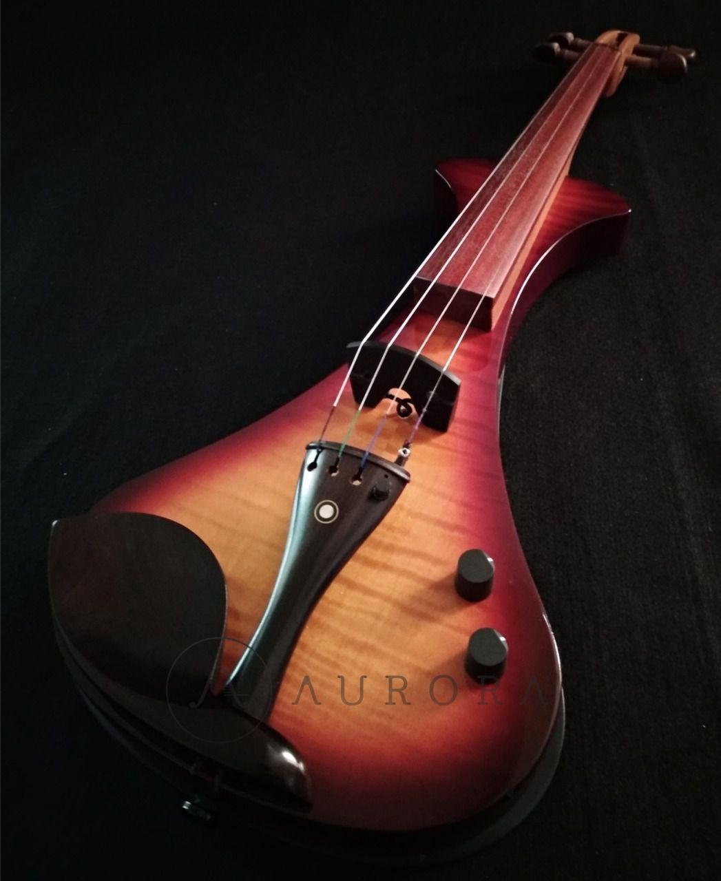 Violino Profissional 4/4 Elétrico Aurora WS sumburst