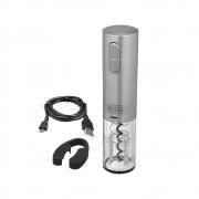 Abridor de Vinho Garrafas LED e USB Recarregável Portátil