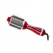 Escova Secadora Alisadora Potente Vermelha Elimina Frizz