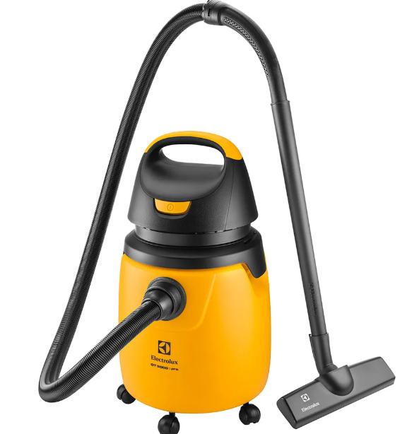 Aspirador Electrolux Sólido e Líquido Profissional 20L Amarelo e Preto