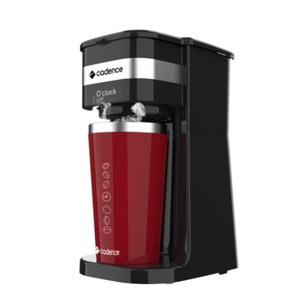 Cafeteira Elétrica com Copo Térmico Cadence Potente 400ml