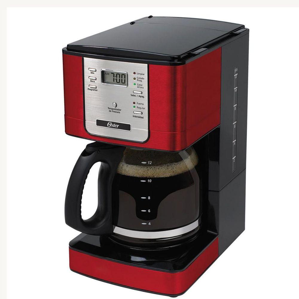 Cafeteira Oster Vermelha 36 Xícaras Programável