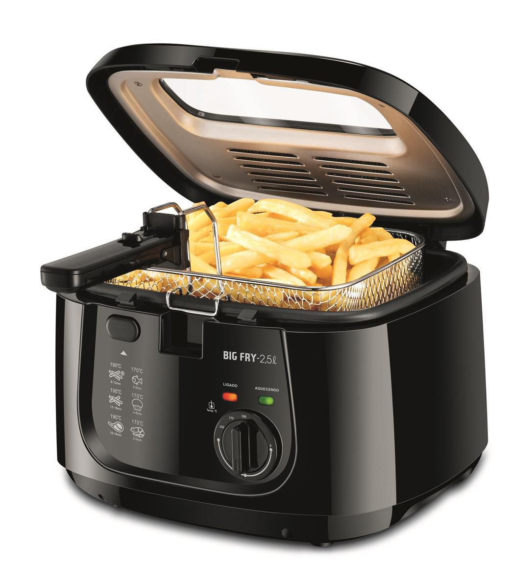 Fritadeira Elétrica Big Fry 2,5L