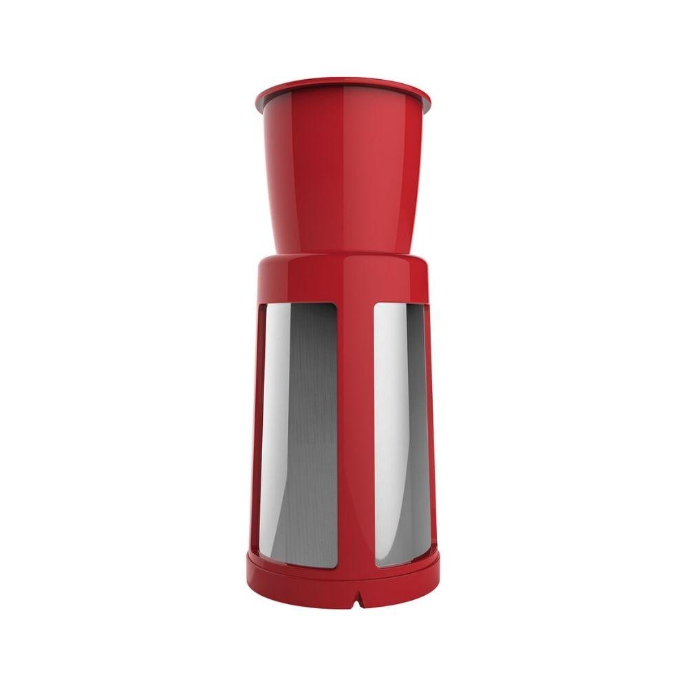 Liquidificador com Filtro Vermelho Potente Cadence 1000W