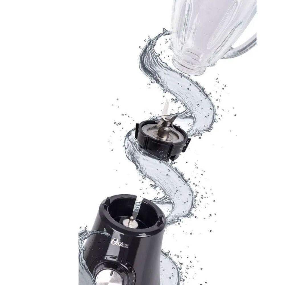 Liquidificador Oster Jarra de Vidro 8 Velocidades + Pulsar