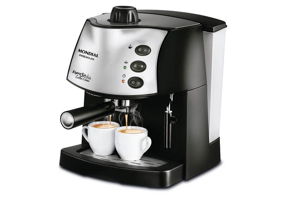 Máquina de Café Expresso Mondial Coffee Cream Premium