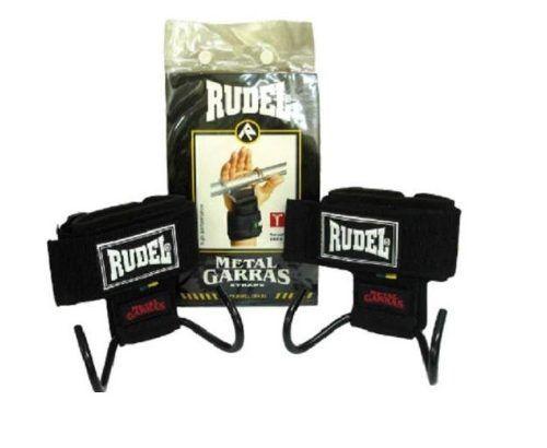 Luva Metal Garras Straps 1115 Munhequeira Rudel Braveheart