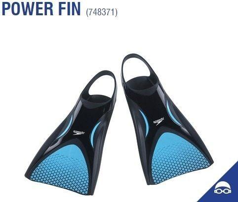 Nadadeira Power Fin Speedo Pé De Pato Com Sacola 748371