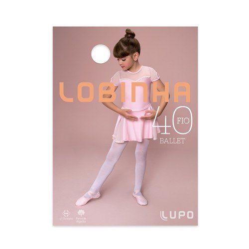 97b7bab7e Meia Calça Fio 40 Lobinha Ballet Infantil 2520-001 - ALL MODAS ...