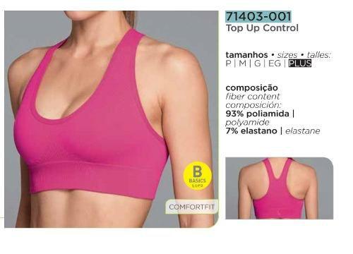 Top Up Control Lupo Tamanho Especial P Ao Plus Academia 71403-001 71403-002