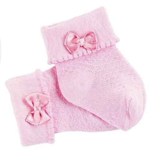 Kit 3 Pares Meias Lupo Baby Recém Nascido Lacinho 2035-001