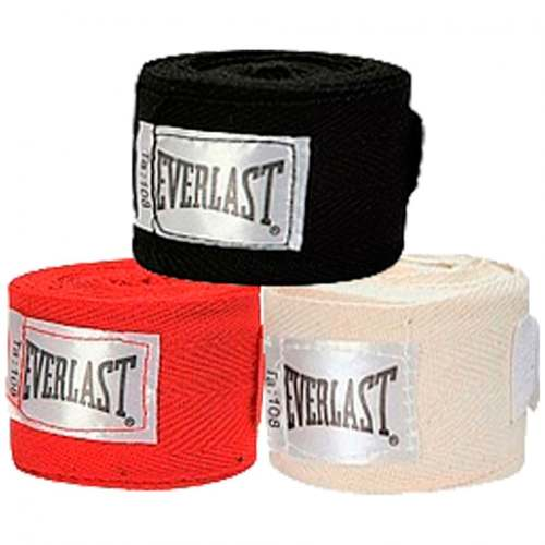 Kit 3 Pares Bandagem Everlast 2,74 Mt 4455-3