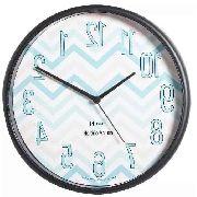 Relógio De Parede Horário Invertido Herweg Preto Ref.660059