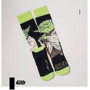 Meia Lupo Urban Yoda Star Wars Cano Alto 16907-009