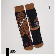 Meia Lupo Urban Chewbacca Star Wars Cano Alto 16907-011