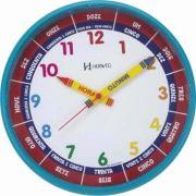 Relógio Educativo Infantil Herweg 26 Cm 6690