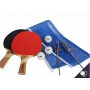 Kit Ping Pong Speedo Tênis de Mesa Raquetes Rede Bolinhas 768102