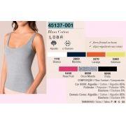 Blusa Cotton Regata Lupo Clássica Loba  45137-001