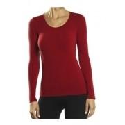 Blusa Decote Redondo M/longa Clássica Poliamida Lupo 45184-001