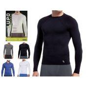 Camiseta Térmica Manga Longa Segunda Pele Lupo Sem Costura 70045-001