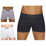 Cueca Boxer Seamless Algodão Zorba Max Fresh 0781 Protege Contra Odores