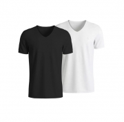 Kit 2 Camisetas Algodão C/Elastano T-shirt Lupo 70676-088
