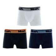 Kit 3 Cuecas Boxer Infantil Kids Algodão 100% Mash 190.24