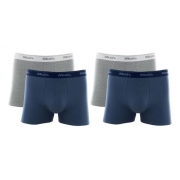 Kit 4 Cueca Boxer Mash Cotton Plus Size Tam Especial 110.18