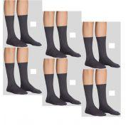 Kit 6 Pares Meias Modal Sportwear Lupo Cano Longo 1792-001