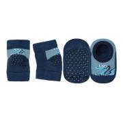 Kit Joelheira + Meia Bebê Antiderrapante Infantil Lupo 10015-010