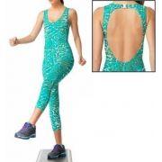 Macacão Shine Fitness Lupo 76101-01