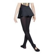 Meia Calça Ballet Versátil Lobinha Abertura Fio 60 Lupo 2588-001