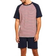 Pijama Lupo Masculino Listrado Raglan 100% Algodão 28157-001