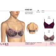 Sutiã Passion Loba Sem Costura Lupo Trend 41042-001.