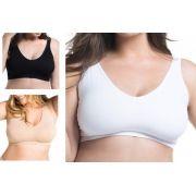 Sutiã T-shirt Mais Curvas Plus Size Trifil Especial C04415